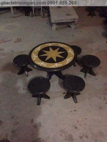 bộ bàn ghế đá mài đẹp ở tp Hồ Chí Minh