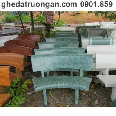 ghế đá cong các màu