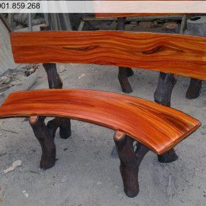 ghế đá giả gỗ đẹp ở tp Hồ Chí Minh