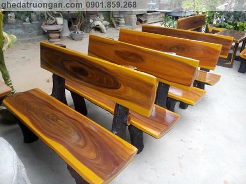ghế đá giả gỗ ngoài trời tp Hồ Chí Minh