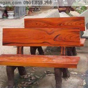 ghế đá giả gỗ giá rẻ tp Hồ Chí Minh