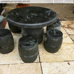 Bộ bàn ghế đá mài tphcm