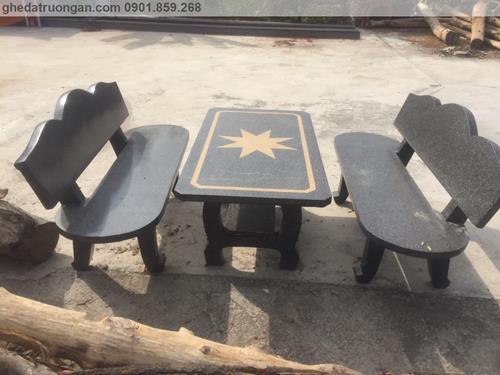 bàn ghế đá mài đẹp