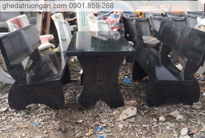 bộ bàn ghế đá hoa cương granite