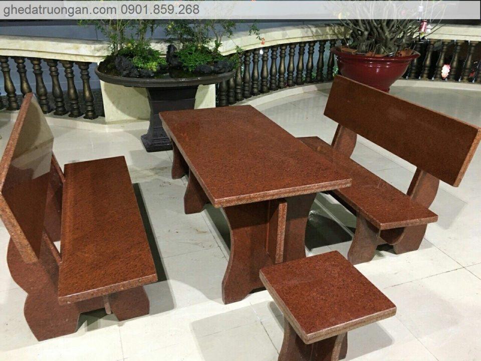Bộ bàn ghế đá Granite