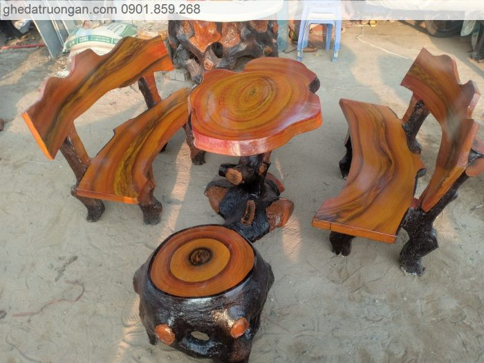 Bàn ghế giả gỗ tphcm