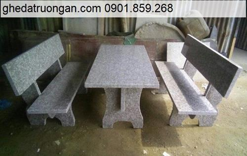 Bộ bàn ghế đá granite tphcm
