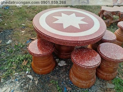 bàn ghế đá đẹp