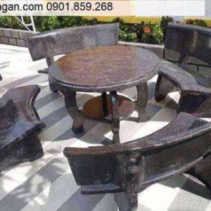 bàn ghế đá đẹp tphcm