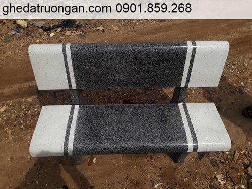 ghế đá mài trắng xám