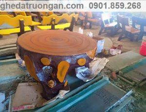 cách sản xuất bàn ghế đá
