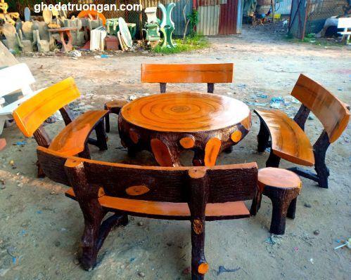 ịa chỉ bán bàn ghế đá giả gỗ