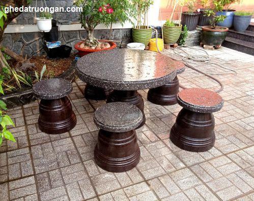 hình ảnh mẫu bàn ghế đá đẹp
